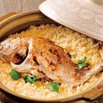 絶品の鯛めしはインパクト大!珍しい食材も目白押し。