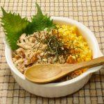 サバ缶レシピ/サバそぼろの二色丼