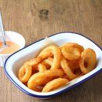玉ねぎレシピ/パクパク食べちゃう「味付きオニオンリング」