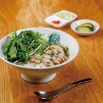 新鮮野菜と天然水で一から手づくり。健康にも嬉しい本格生麺フォー。[大阪 本町]